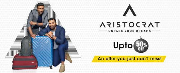 Aristocrat luggage bags, duffle bags, backpacks and school