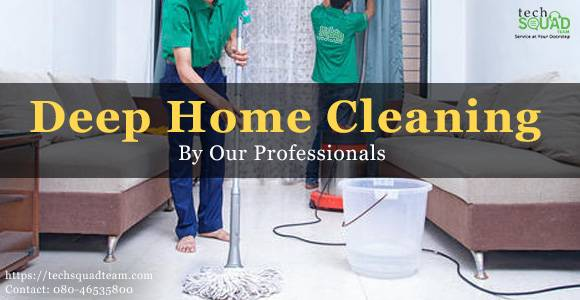 Reliable and efficient deep home cleaning service in