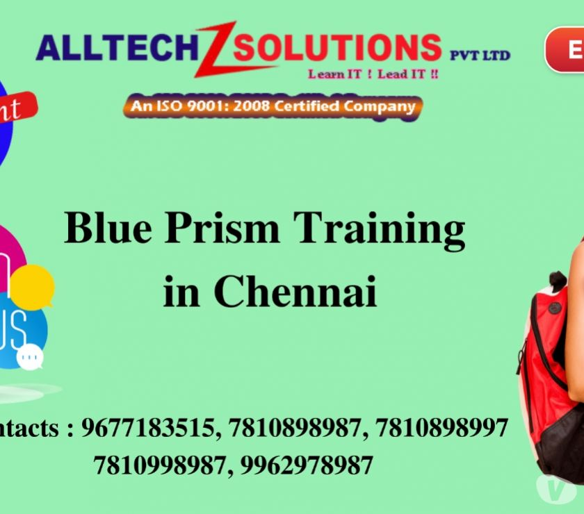Best Blue Prism Training Center in Chennai Chennai