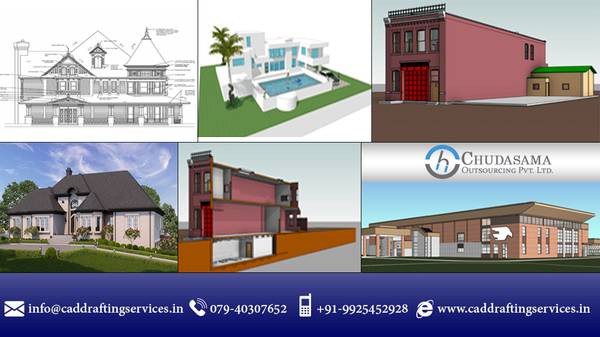 CAD DRAFTING SERVICES - CHUDASAMA OUTSOURCING PVT LTD
