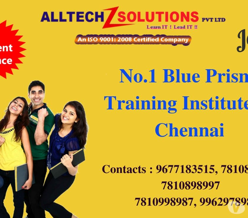 Best Blue Prism Training Institute in Chennai Chennai
