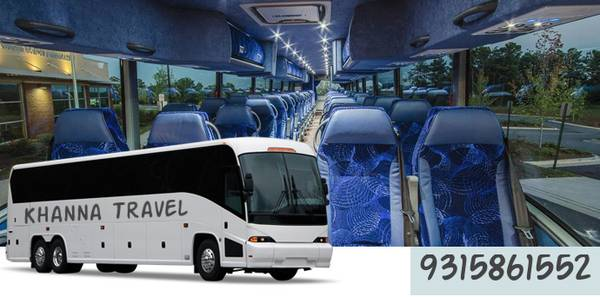 Cheap Bus Rentals in Delhi/NCR | Khanna Travel