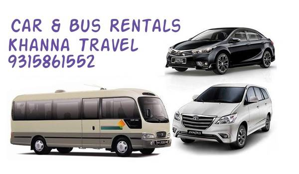 Cheap Car Rentals in Delhi/NCR | Khanna Travel