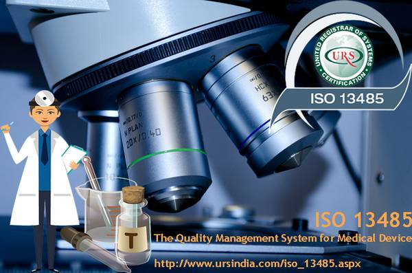 ISO  is a Quality Management System for medical device