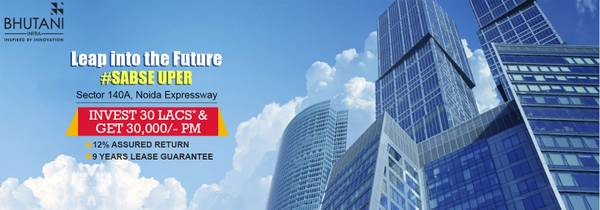 Office Space in Noida by Cyberthum by Bhutani Group! 12%