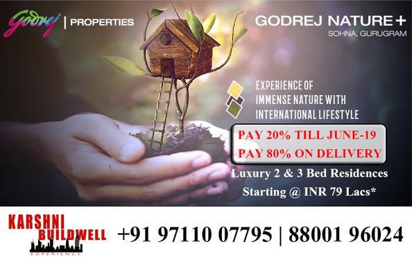 Godrej Nature Plus Book Your Luxury Homes in Sector33 Sohna
