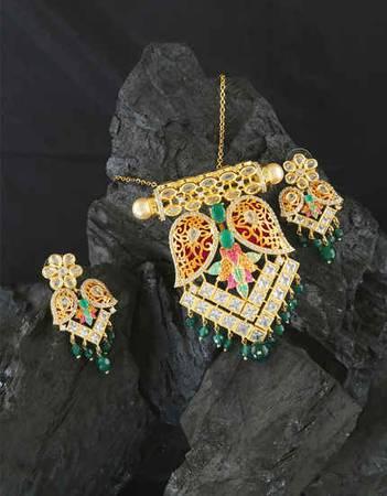 Buy Designer Pendants for Women Online at Anuradha Art