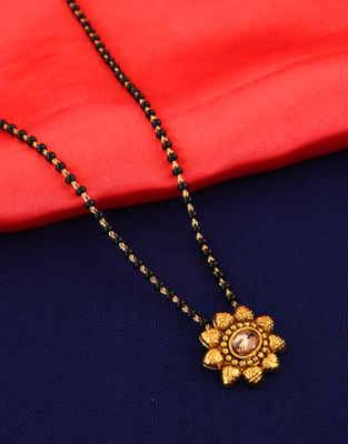 Buy Latest Long Mangalsutra Online at Lowest Price |