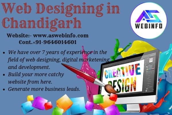 Best Company for Web Designing in Chandigarh | Aswebinfo