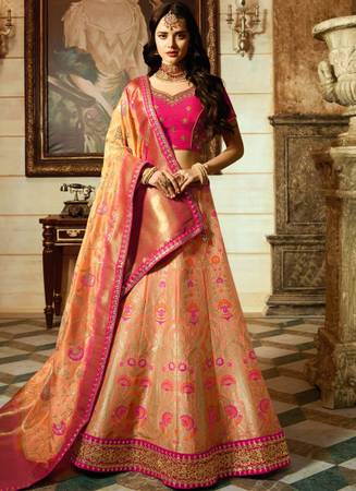Want to be the talk of the town? Buy Lehenga Choli Online