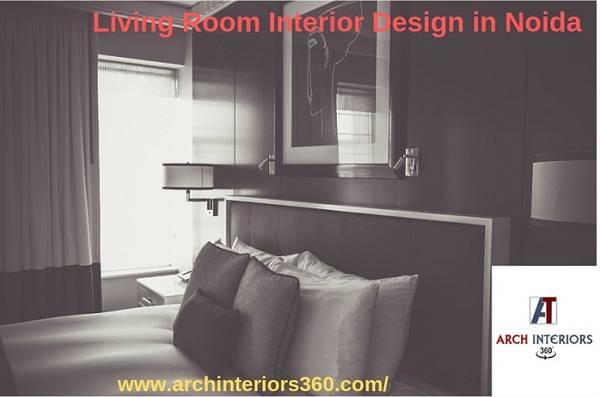 Living Room Interior Designer in Noida