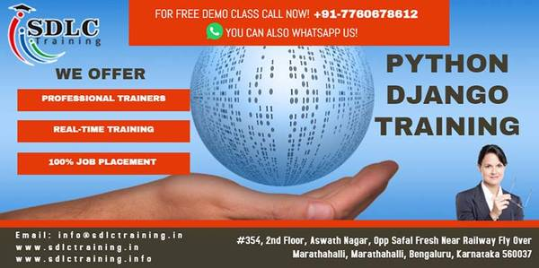 Python Django Training in Marathahalli Bangalore