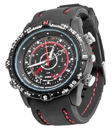 TOQON Wrist Watch Spy Camera 4GB Sports Splash Proof