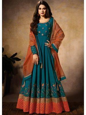 Floor Length Ladies Suits Online at Trendybiba.com