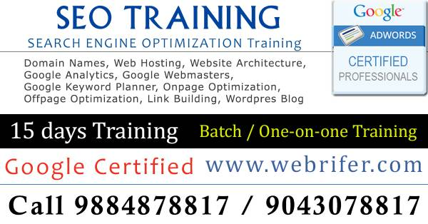 SEO Training in Ambattur, SEO company in Ambattur