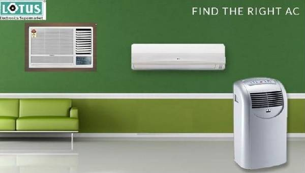 Buy air conditioners online from best electronic store –