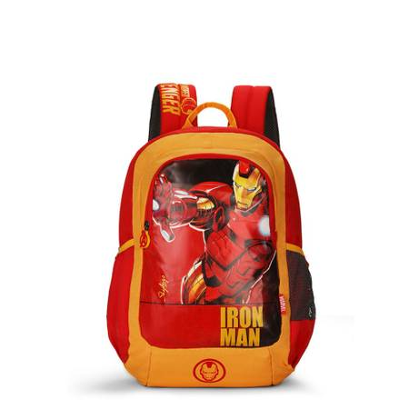 Skybags SB Marvel Iron Man Red School Backpack Bags