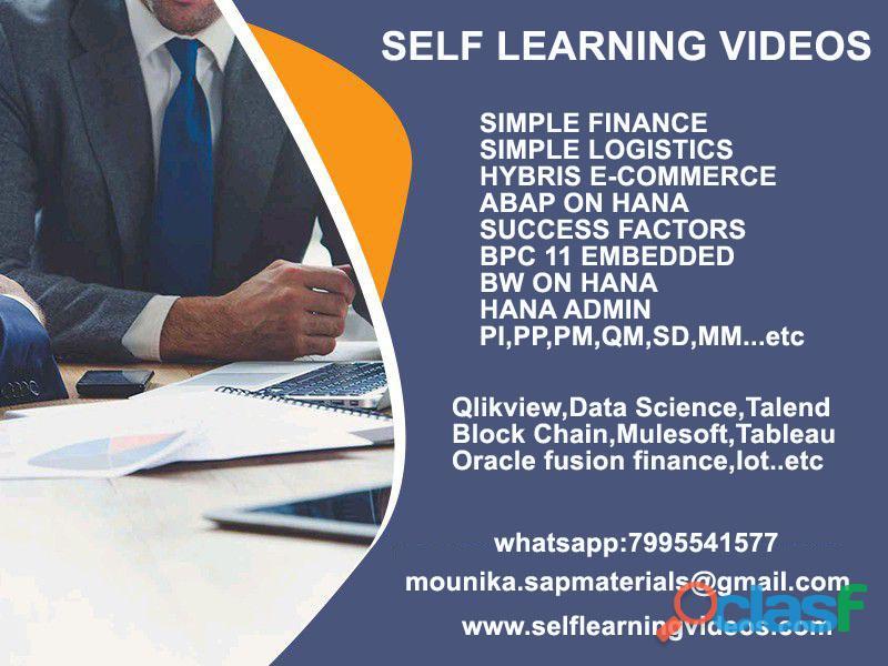 sap simple finance configuration videos