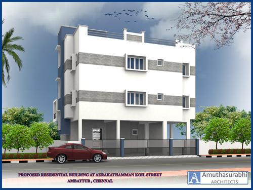 READY TO OCCUPY 2 bhk flat @ Banu nagar, Pudur