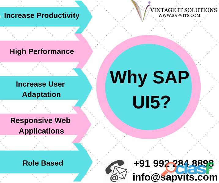 SAP UI5 Online Training Courses in India, Hyderabad,
