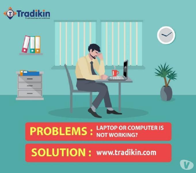 TV Repair Services | Computer Repair Services in Delhi- Trad