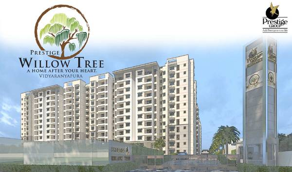 1 2 & 3 BHK apartments- Prestige Willow Tree