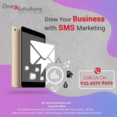 Bulk SMS Marketing Services in Kolkata, India | OneX
