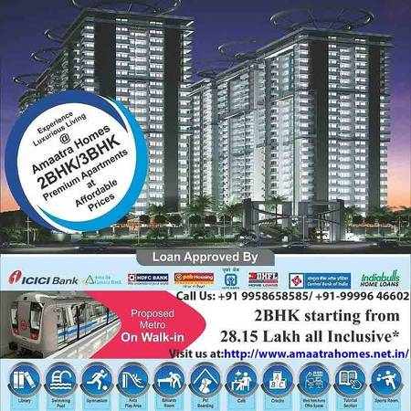 Ready to Move in flats Amaatra Homes  Lacs