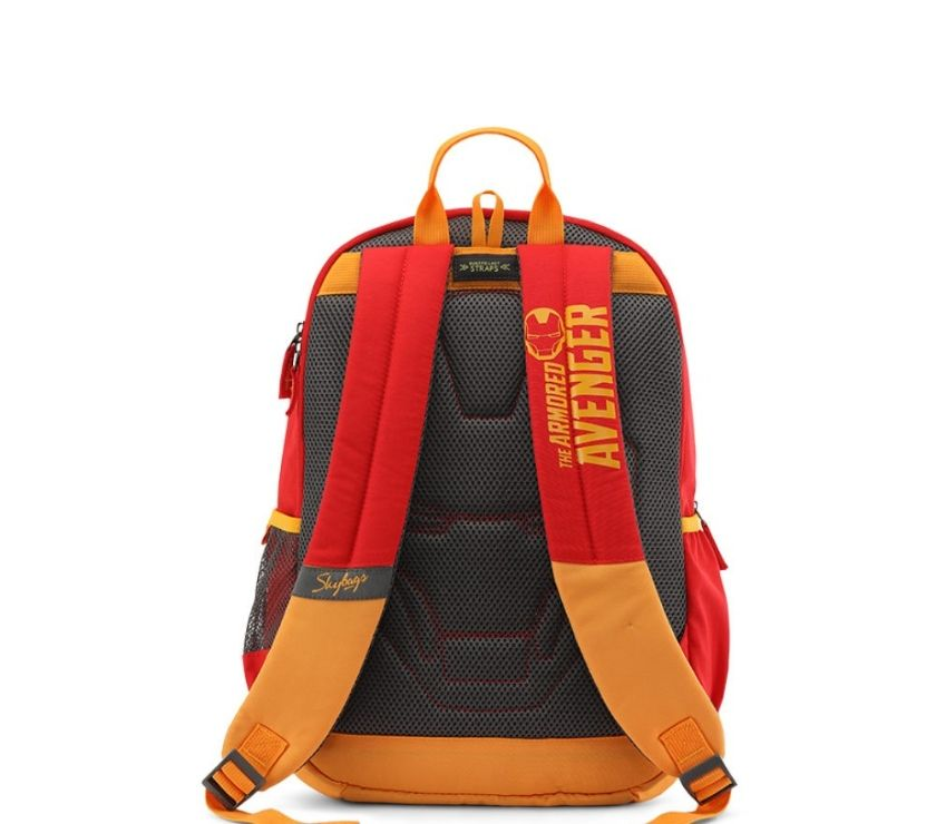 Skybags SB Marvel Iron Man Red School Backpack Bags Mumbai