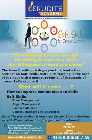 Soft Skills Seminar For Free !!