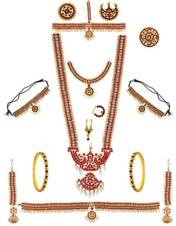 Buy Bridal Jewellery Set for Wedding & Dulhan Set for Women