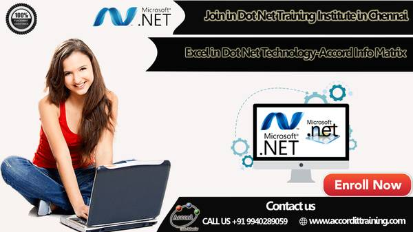 Join in Dot Net Training Institute in Chennai and excel in