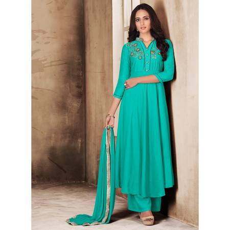 Make your style easy with Handwork Palazzo Suits