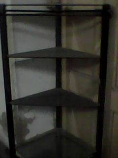 wrought iron glass show case