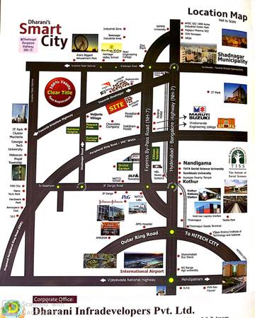 DTCP APPROVED PLOTS for SALE in SHADNAGAR-Opp- Asiana Hotel,