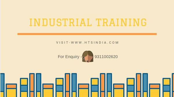 Learn industrial training in 6 months.