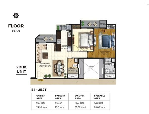 Rishita Mulberry Heights – 2/3BHK Spacious Apartments in