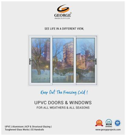 George Projects leading in upvc window doors manufactures in