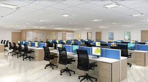 sq.ft, Furnished office space for rent at museum road