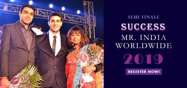 Apply Online for Mr. India Worldwide  - Registration