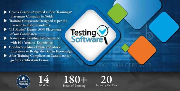 Best training institute for software testing