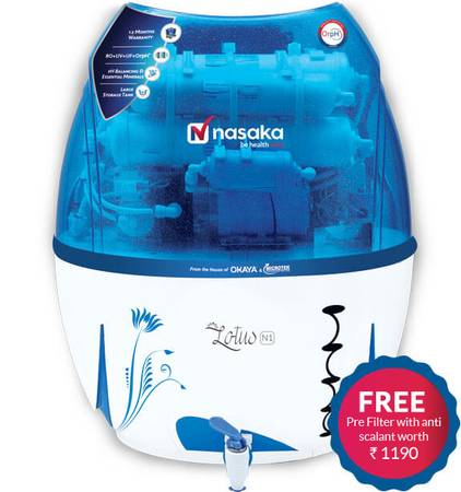 Nasaka Lotus N1 Domestic RO Water Purifier at Best Price