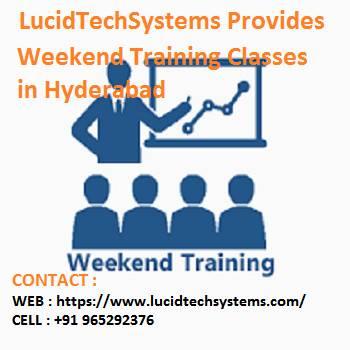 Weekend Training in Hyderabad | Weekend Training Courses