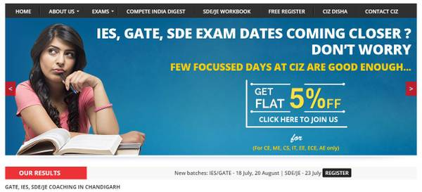 Coaching institute for GATE in Chandigarh