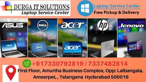 Laptop service center in Ameerpet