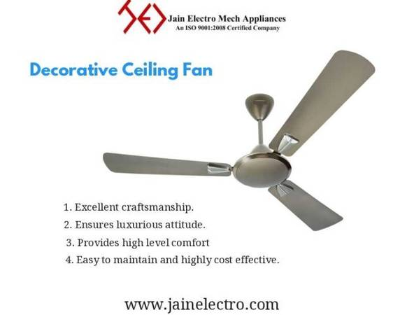 Decorative Ceiling Fan Manufacturers and Suppliers