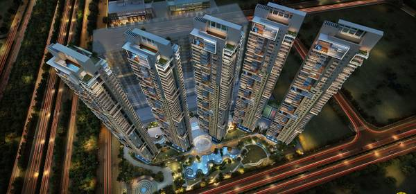 To book a lavish home in ATS Knightsbridge Noida