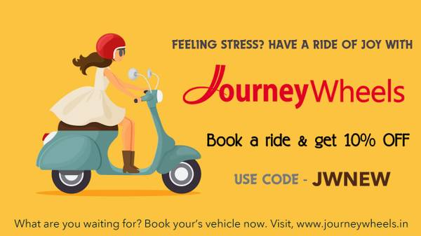Journey Wheels - Book Rental bikes in Vizag at cheapest
