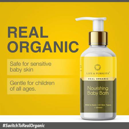 Life & Pursuits Organic Baby Wash - A Body Wash For Baby