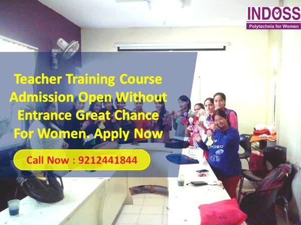 Nursery Primary Teacher training course in Delhi